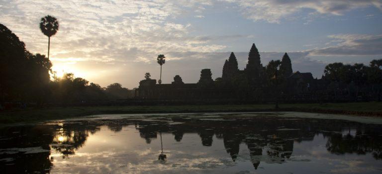 Angkor: recorrido corto.