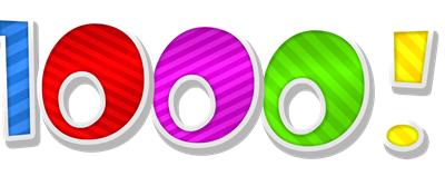 SORTEO: 1000 seguidores en facebook: MUCHAS GRACIAS !!!!