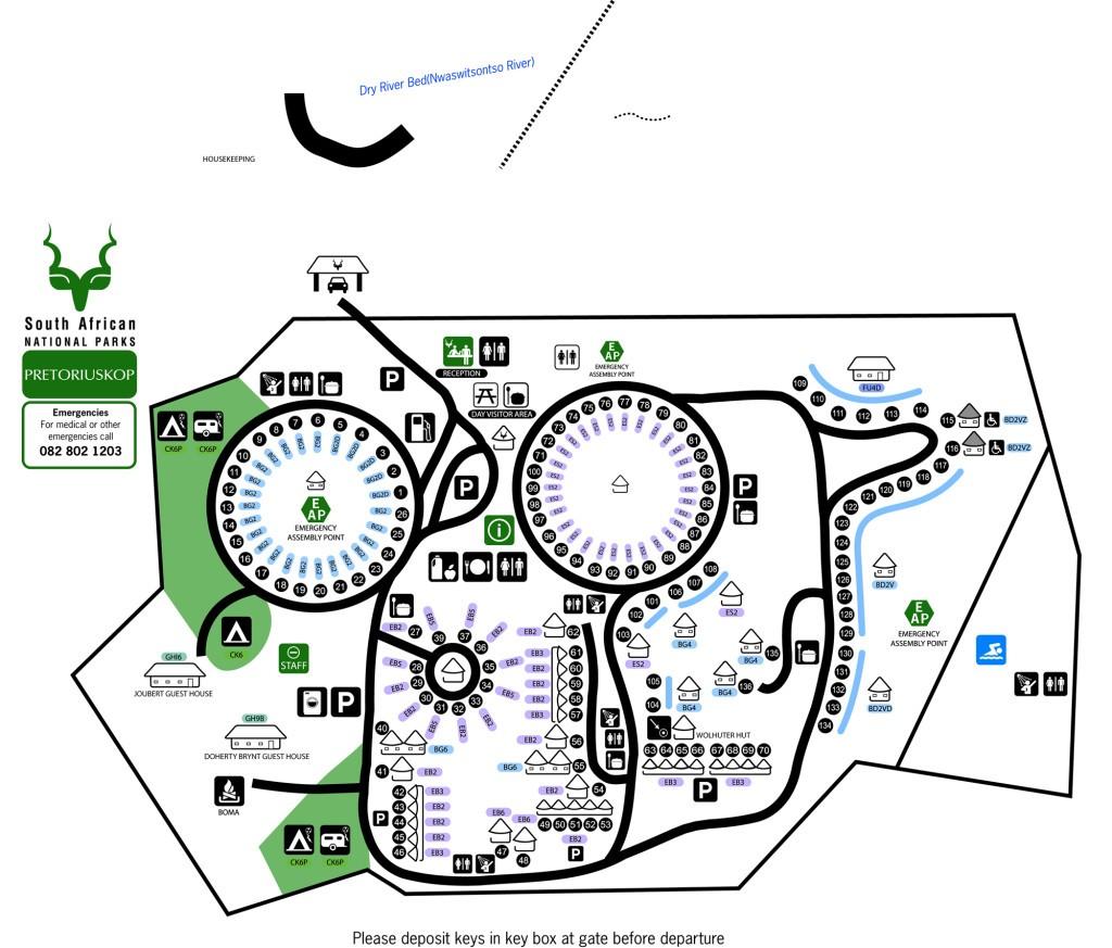 pretoriouskop map