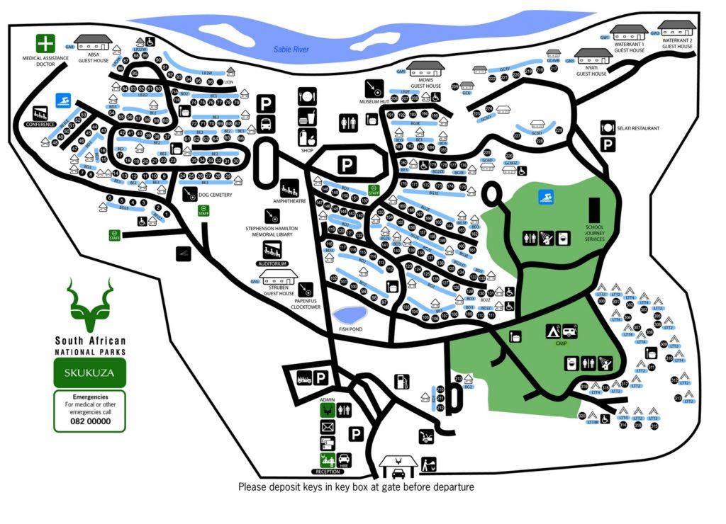skukuza MAP
