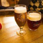 Comer y beber en Praga.