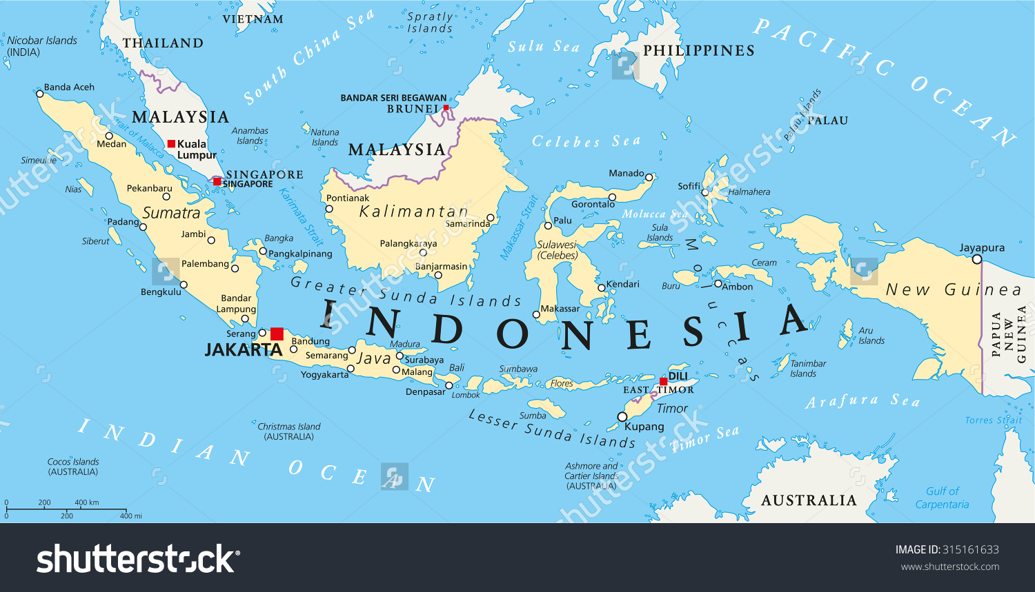 stock-vector-indonesia-political-map-with-capital-jakarta-national-borders-and-important-cities-english-315161633
