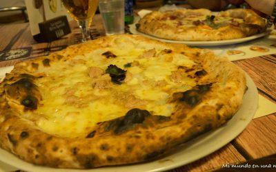 Comer y beber en Nápoles.