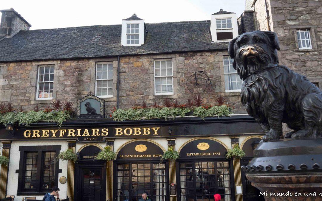 Comer y beber en Edimburgo.