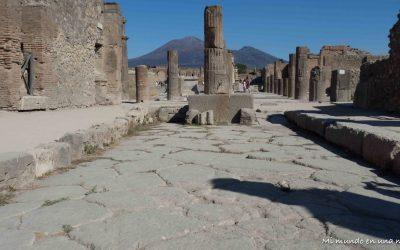 Visitar Pompeya desde Nápoles (o desde Roma).