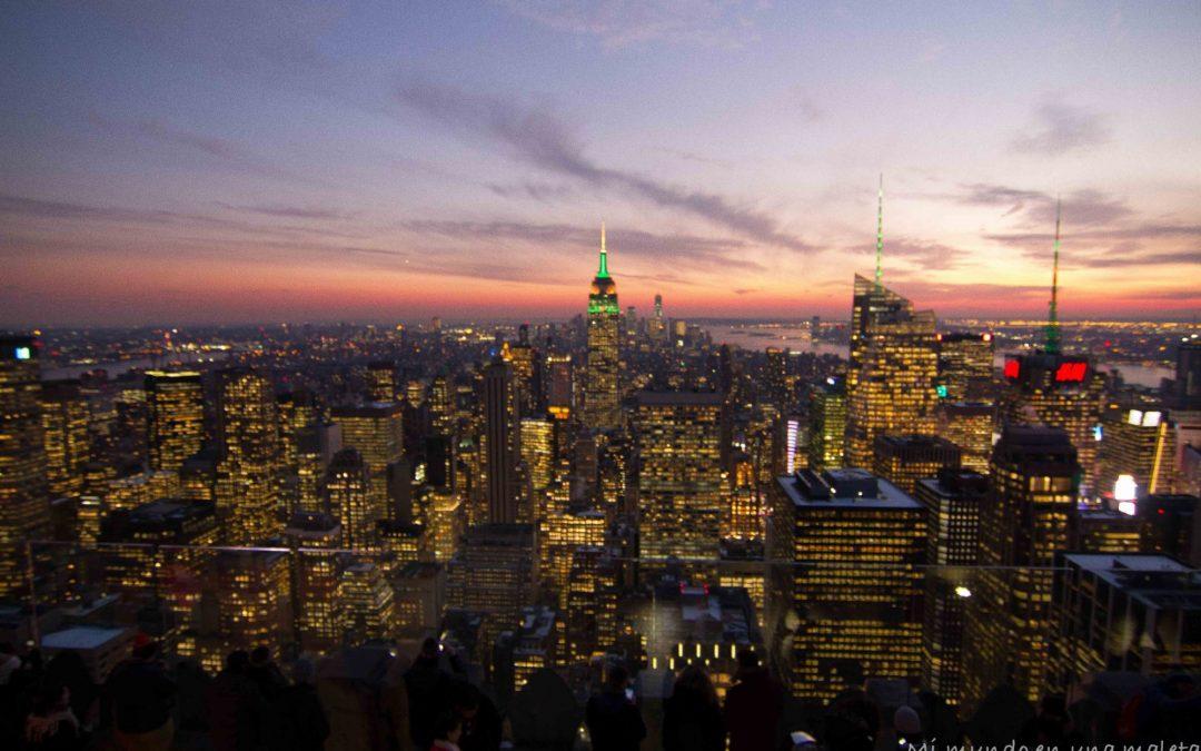 Nueva York en diciembre: ferry a Staten Island, zona cero, museo 11-s y Top of de Rock.