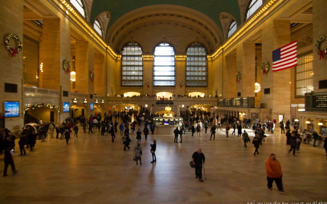Nueva York en diciembre: Paseos por Bryant Park, Chrysler Building, Grand Central y Columbus Circle.
