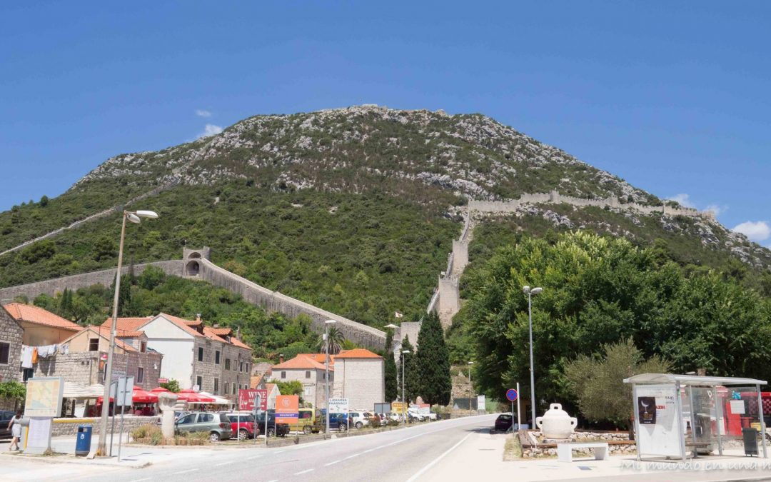 Croacia en una semana: Slano y Ston.