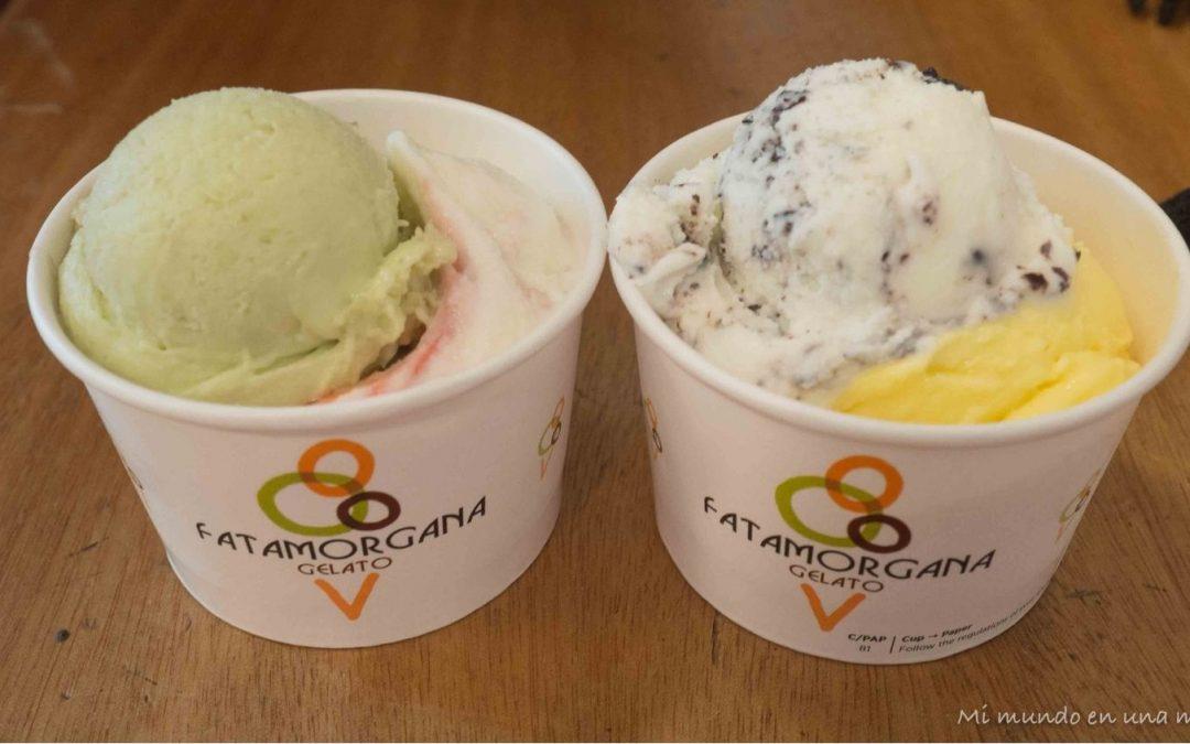 Las mejores heladerías de Roma.